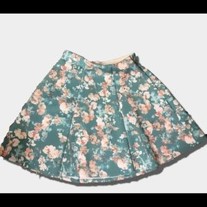 Women's | Decree | Floral Skater Skirt